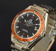 Alpha Planet Ocean 922 Automatik Homage Uhr Watch Herrenuhr Parnis Seagull NEU