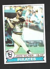 1979 Topps #523 JOhn Milner Pittsburg Pirates VG-EX