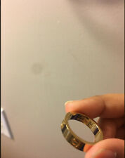 Cartier Love Ring 750 18k Yellow Gold Size 6