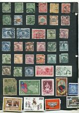 STAMP LOT OF CHINA FAULTY ITEMS, INCLUDING COILING DRAGONS, SOME WITH MINOR FAUL