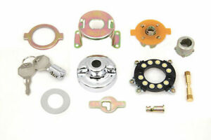 Fat Bob Ignition Switch Component Kit for Harley Davidson by V-Twin