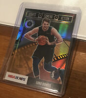 2019 Luka Doncic Nba Hoops Lights Camera Action Holo Refractor #15
