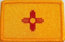 NEW MEXICO STATE Flag Military Patch With VELCRO® Brand Fastener Shoulder Emblem