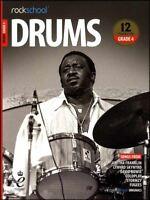 Rockschool Drums Grade 4 2018-2024 Sheet Music Book/Audio Exercises Tests Songs
