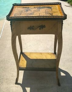 THEODORE ALEXANDER 5002-013 END LAMP ACCENT TABLE VINTAGE ~VGC ~SEE INFO