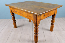 Rustic Lounge Sofa Table with Turned Legs