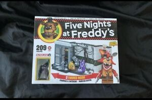 FNAF McFarlane Five Nights At Freddy's Parts/Service Set New Shadow Freddy