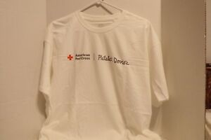 FRUIT OF LOOM~AMERICAN RED CROSS T-SHIRT~SIZE  XL~NEW~