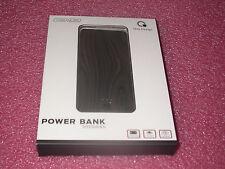 Que Design QUE-5000 Dual 2.4A USB Port 5000mAh Power Bank AC-DC input Wood Grain