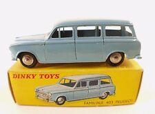 Dinky Toys F n° 24F Peugeot 403  familiale break jamais jouée en boite
