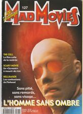 MAD MOVIES N°127 HELLRAISER / SCARY MOVIE / THE CELL / L HOMME SANS OMBRE