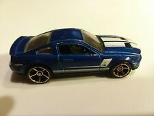 Blue Hot Wheels 2007 Shelby GT500 Malaysia C43