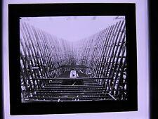 Dampfer  Imperator in Spanten alte Fotoglasplatte großes Dia  Th. Benzinger