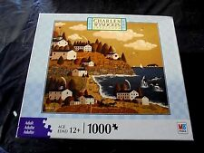 """Unique Charles Wysocki 1000 pc. puzzle-""""HAVING A WHALE OF A GOOD TIME"""""""