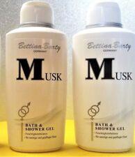 Bettina Barty  Musk Bath & Shower Gel Duschgel  2 x 500 ml (EUR 14,40 / L)