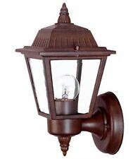 "Acclaim Lighting 5005 Burled Walnut Builder's Choice 1 Light 10"" Height Outdoor"