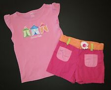 Gymboree girl spring Rainbow Cabana cutie outfit top shirt tee short sleeve surf