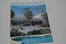 """January 1999  """"Architectural Digest"""" Magazine"""