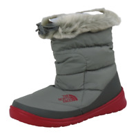 The North Face Nuptse Faux Fur IV Womens Bootie Grey Winter Waterproof AYCPZP3