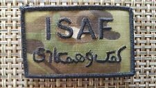 US ARMY ISAF Patch Multicam International Security Assistance Force Ripstop