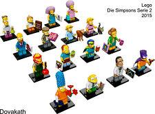 LEGO 71009 DIE SIMPSONS 2015 SERIE 2 MINIFIGUREN AUSSUCHEN ODER KOMPLETTSATZ