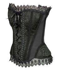 Damen-Korsagen im Haken & Ösen-Stil mit Vollbrust und Polyester