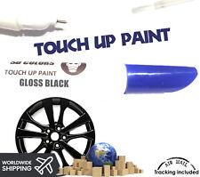 Gloss Black Alloy Wheel New Touch Up Paint Pen Curbing Scratch Repair