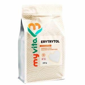 Erythritol Zero Calorie Sweetener(Granulated) 250g. Healthy  Sugar alternative!