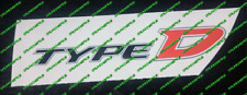 Honda Civic type D Diesel EP4 Fn3 Boot autocollants autocollant