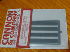 Cannon & Company HO #1403 Radiator Screens for: EMD GP-40-2 (Post 1976) Plastic