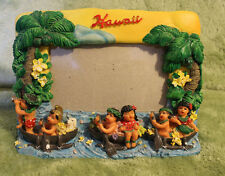 Hawaii 3D Photo Frame Kitsch Unique Chiefly