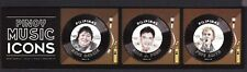 Philippines 2019 PINOY Music Icon Rico J. Puno Sheet of 3 Free Form Mint NH