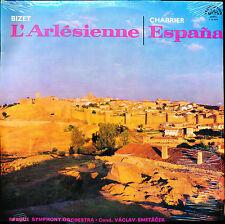 BIZET L'Arlésienne CHABRIER España Prague Symphony Supraphon 1100694 LP SEALED