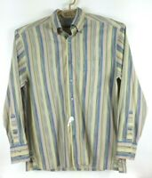 Alexander Julian Mens Size L Large l/s shirt Private Reserve Italian Cotton b