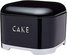 Kitchen Craft Lovello Cake Storage Tin (26 x 20 cm) - Midnight Black