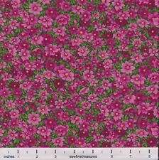 Flower of the Month October COSMOS PACKED Northcott Fabric By the FQ - 1/4 YD