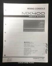 Original Yamaha / MX400 Mixing Console / Service Manual