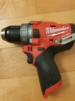 Milwaukee 2504-20 M12 FUEL12-Volt Brushless 1/2 In Hammer Drill Tool-Only - New
