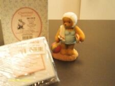 Cherished Teddies / Janice-in bathing suit & cap. You suit me perfectly