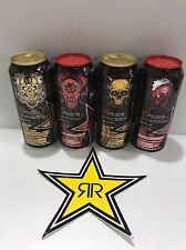 Rockstar Energy Drink Gears Of War 4 NO TAB OR CODE JUST FOR COLLECTION FULL