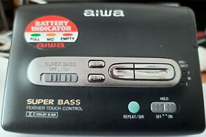 Aiwa WalkmanHS-PX347 Dolby B Super Bass FeatherTouch Excellent Condition & Sound