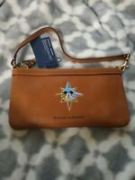 Disney Mickey Mouse Leather Wristlet By Dooney And Bourke Walt Disney World NWT