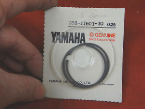 YAMAHA Piston Ring Set, 1st OS, JT1 JT2 JT2MX RD60 MJ2 MJ2T YJ2, 288-11601-10-00