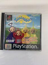 Spielen mit den Teletubbies-ps1 Sony Playstation One Spiel-PAL * komplett