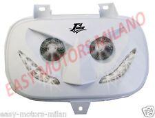 Maschera faro a led Anteriore Bianco Booster Spirit Yamaha Bw's Original 90->03