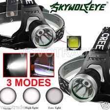 5000 Lm CREE XM-L XML T6 LED Headlamp Headlight flashlight head light lamp 18650