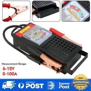 Battery Load Tester 6V 12V 100 AMP Truck Boat Bike Car Battery Tester Tools AU