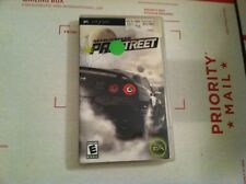 Need for Speed: ProStreet Sony PSP game 2008 Booklet IN BOX L@@K!