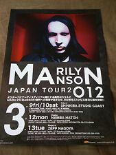 Marilyn Manson / Tour flyer / Japan
