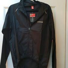 New - Lusso Men's Giro Cycling Rain Jacket - Black Size M